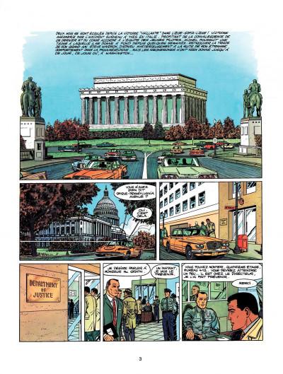 Page 1 Michel Vaillant tome 9 - le retour de Steve Warson