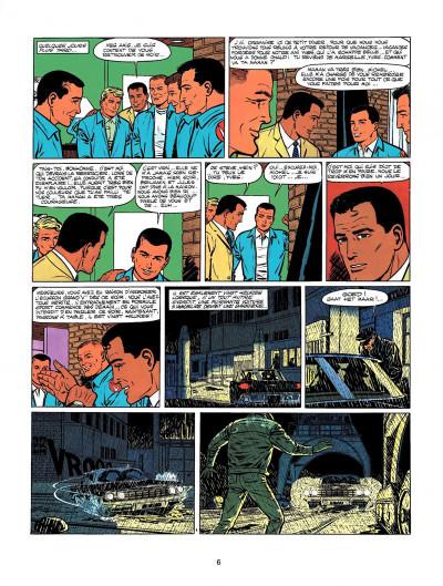 Page 4 Michel Vaillant tome 9 - le retour de Steve Warson
