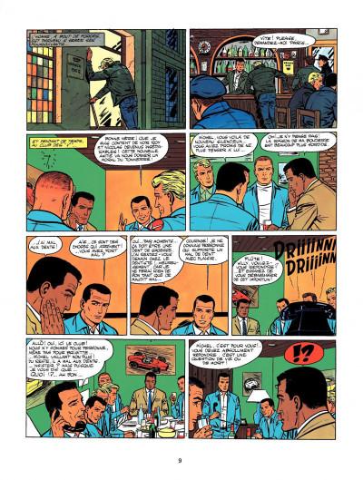 Page 7 Michel Vaillant tome 9 - le retour de Steve Warson