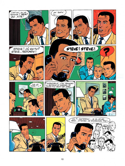 Page 8 Michel Vaillant tome 9 - le retour de Steve Warson