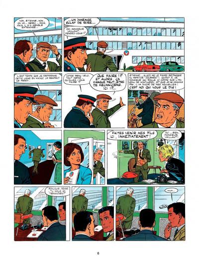 Page 4 Michel Vaillant tome 10 - l'honneur du samouraï