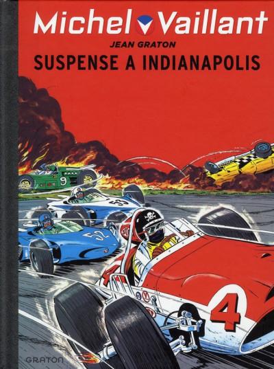 Couverture Michel Vaillant tome 11 - suspense à Indianapolis