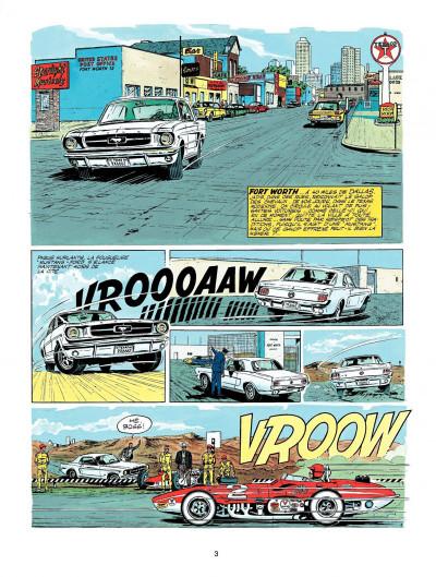 Page 1 Michel Vaillant tome 11 - suspense à Indianapolis