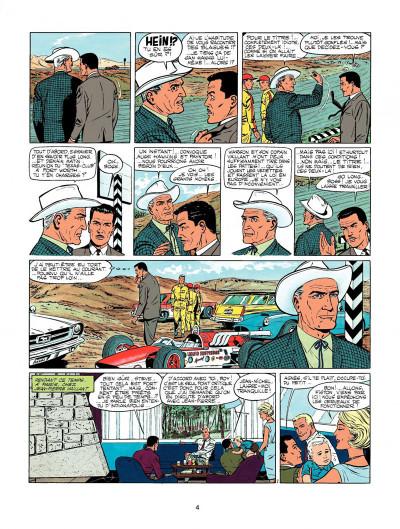 Page 2 Michel Vaillant tome 11 - suspense à Indianapolis