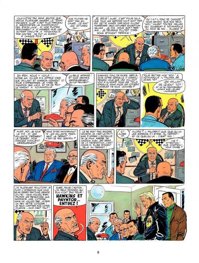 Page 6 Michel Vaillant tome 11 - suspense à Indianapolis
