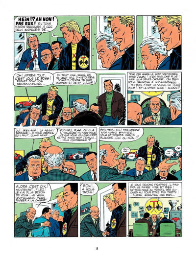 Page 7 Michel Vaillant tome 11 - suspense à Indianapolis