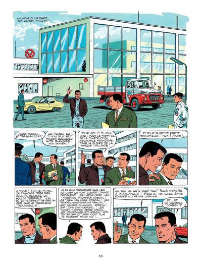 Page 8 Michel Vaillant tome 11 - suspense à Indianapolis