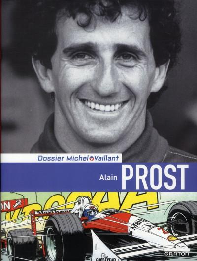 Couverture dossiers Michel Vaillant tome 12 - Alain Prost