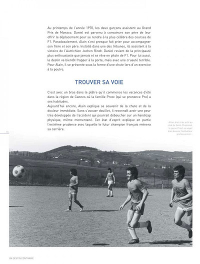 Page 3 dossiers Michel Vaillant tome 12 - Alain Prost