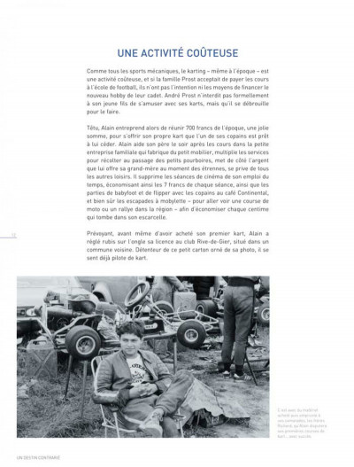 Page 5 dossiers Michel Vaillant T.12 - Alain Prost