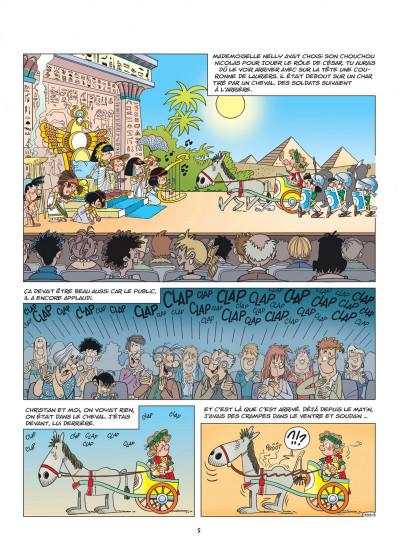 Page 5 Cédric tome 25 - qu'est-ce qu'il a ?