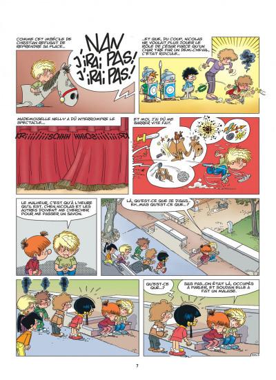 Page 7 Cédric tome 25 - qu'est-ce qu'il a ?