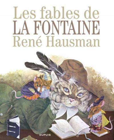 Couverture les fables de La Fontaine ; édition luxe