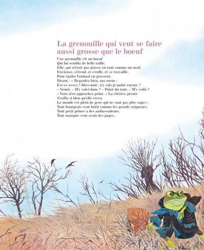 Page 1 les fables de La Fontaine ; édition luxe