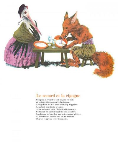 Page 4 les fables de La Fontaine ; édition luxe
