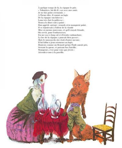 Page 5 les fables de La Fontaine ; édition luxe