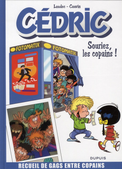 Couverture Cédric - best of tome 3 - souriez, les copains !