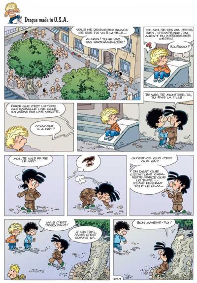Page 1 Cédric - best of tome 3 - souriez, les copains !