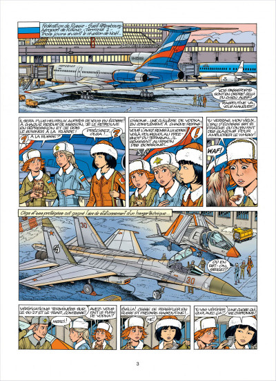 Page 3 Yoko Tsuno tome 26 - le maléfice de l'améthyste