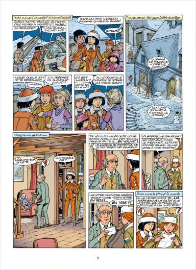 Page 9 Yoko Tsuno tome 26 - le maléfice de l'améthyste