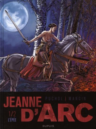 Couverture Jeanne d'Arc tome 1 - l'épée tome 1