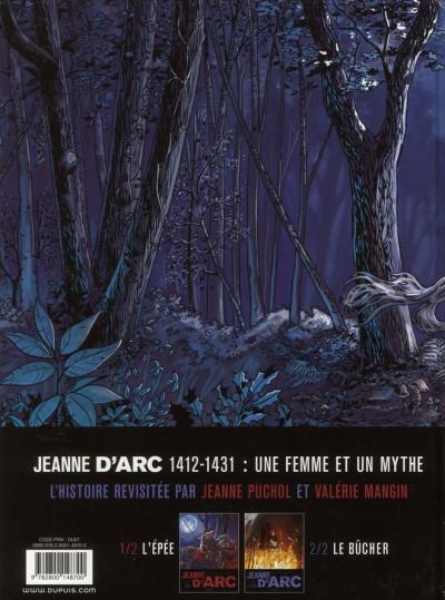 Dos Jeanne d'Arc tome 1 - l'épée tome 1