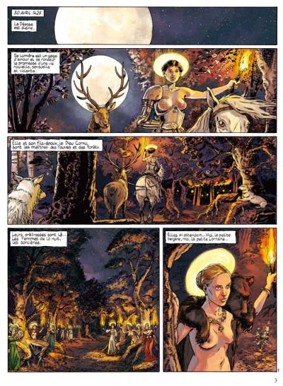 Page 1 Jeanne d'Arc tome 1 - l'épée tome 1