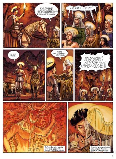 Page 3 Jeanne d'Arc tome 1 - l'épée tome 1