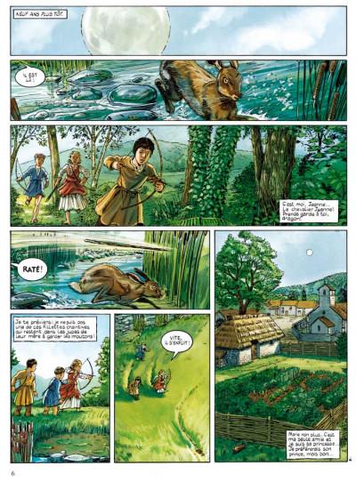 Page 4 Jeanne d'Arc tome 1 - l'épée tome 1