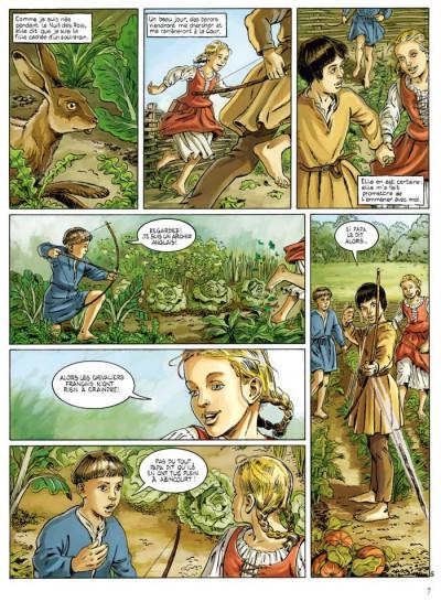Page 5 Jeanne d'Arc tome 1 - l'épée tome 1