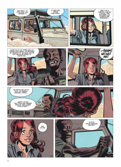 Page 4 alter ego tome 1 - Camille