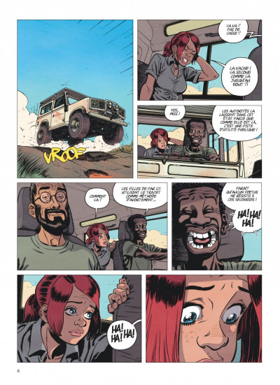 Page 6 alter ego tome 1 - Camille