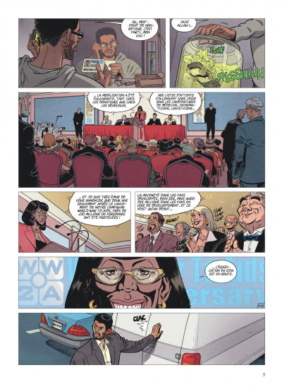 Page 5 alter ego tome 2 - Fouad