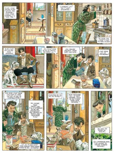 Page 5 le sursis ; intégrale + ex-libris numéroté et signé