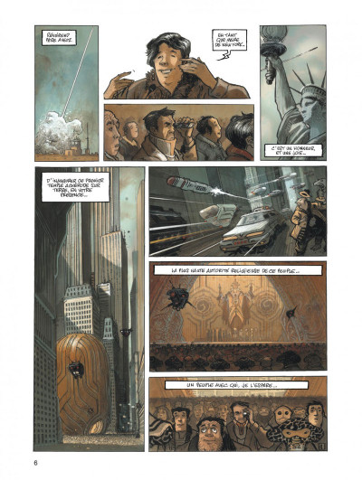 Page 6 orbital tome 5 - justice