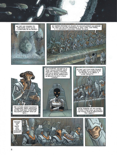 Page 8 orbital tome 5 - justice