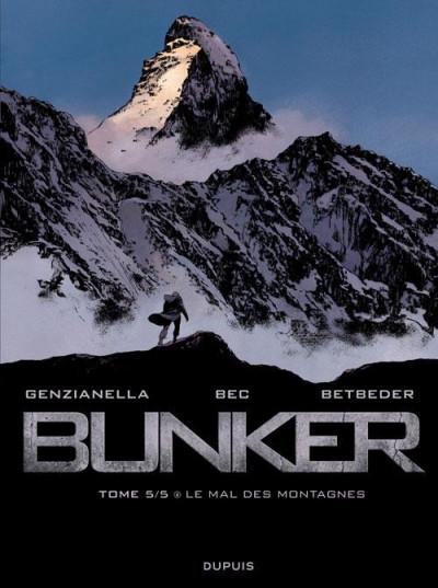 Couverture bunker tome 5 - le mal des montagnes