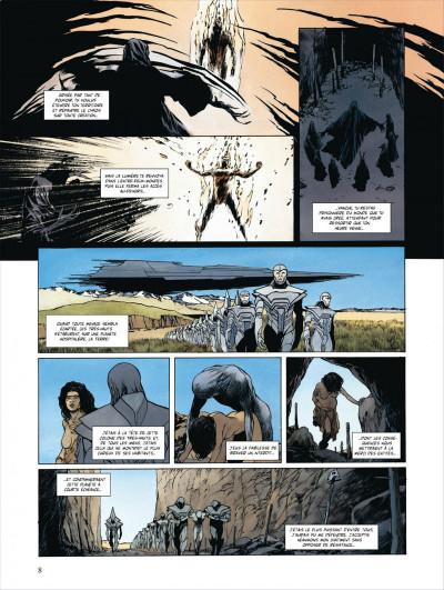 Page 8 bunker tome 5 - le mal des montagnes