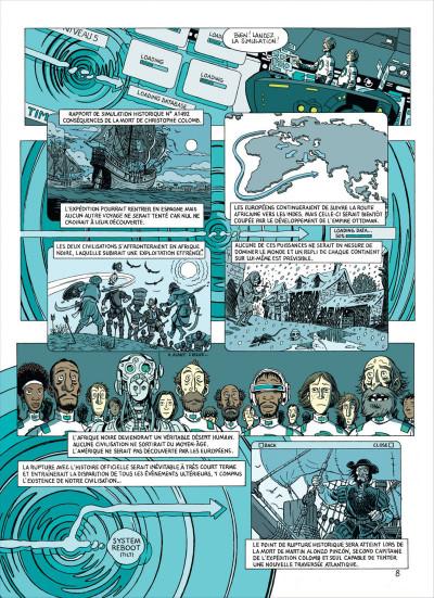 Page 0 les brigades du temps tome 1 - 1492, à l'ouest, rien de nouveau !