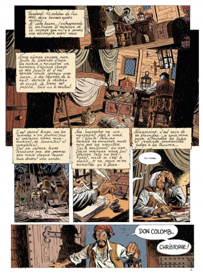 Page 1 les brigades du temps tome 1 - 1492, à l'ouest, rien de nouveau !