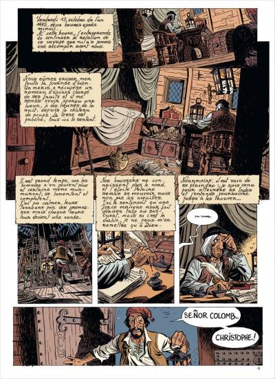 Page 3 les brigades du temps tome 1 - 1492, à l'ouest, rien de nouveau !