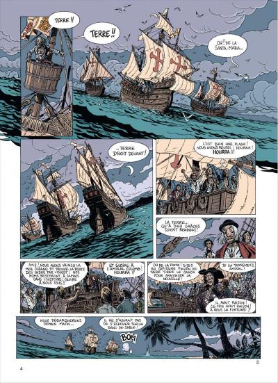 Page 4 les brigades du temps tome 1 - 1492, à l'ouest, rien de nouveau !