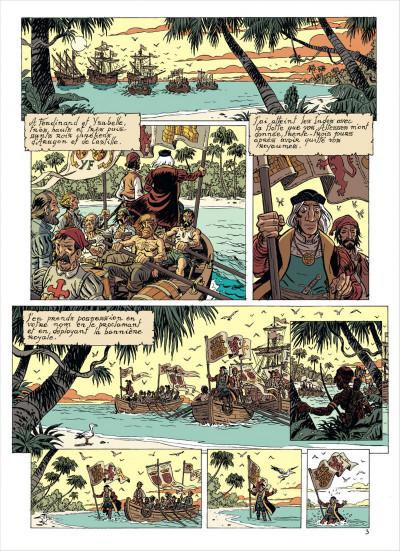 Page 5 les brigades du temps tome 1 - 1492, à l'ouest, rien de nouveau !