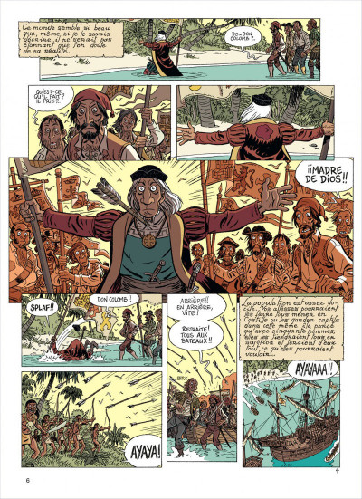 Page 6 les brigades du temps tome 1 - 1492, à l'ouest, rien de nouveau !