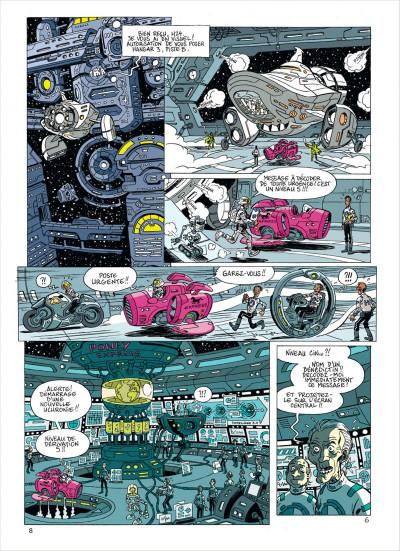 Page 8 les brigades du temps tome 1 - 1492, à l'ouest, rien de nouveau !