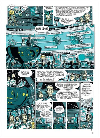 Page 9 les brigades du temps tome 1 - 1492, à l'ouest, rien de nouveau !
