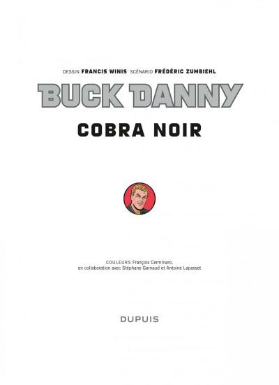Page 1 Buck Danny tome 53 - cobra noir
