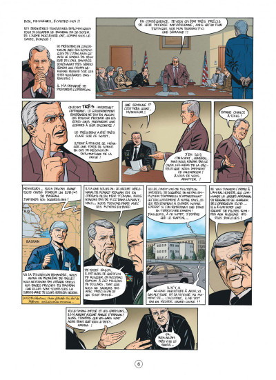 Page 6 Buck Danny tome 53 - cobra noir