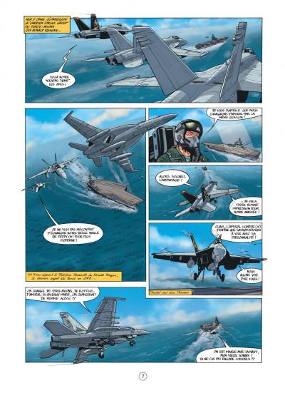 Page 7 Buck Danny tome 53 - cobra noir