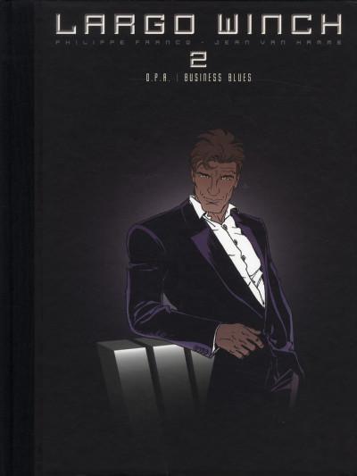 Couverture Largo Winch - diptyque tome 2 édition Le Soir